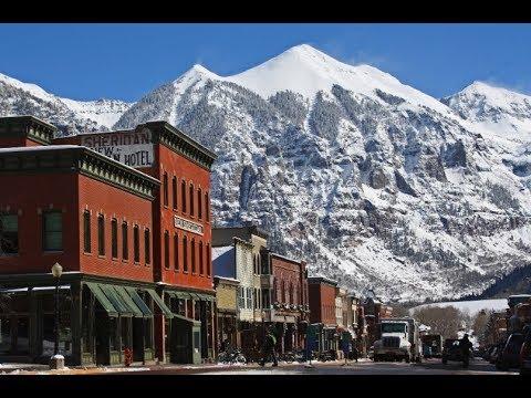 Ridgway, Colorado - Ride through downtown Summer 2018