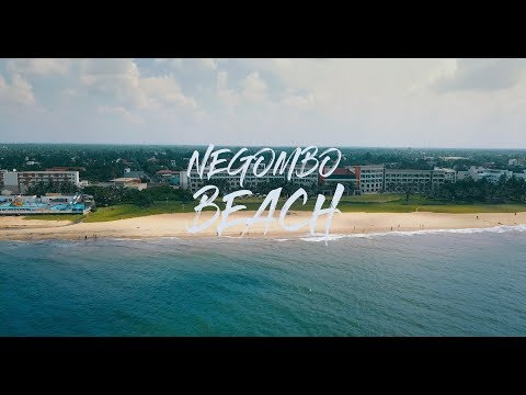 Negombo Beach - Aerial views (Sri Lanka)