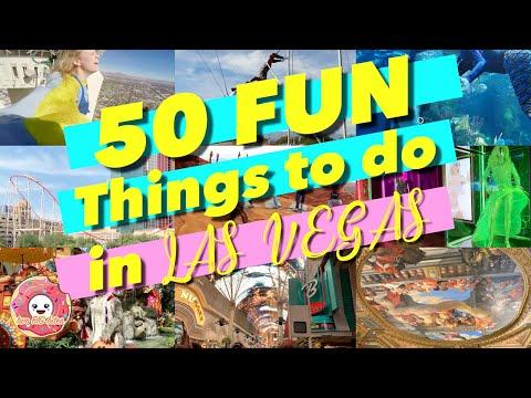50 Fun Things to do in Las Vegas - Vegas Vacation Travel Guide