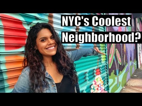 Bushwick, Brooklyn - NYC Neighborhood Tour (Street Art & More) !