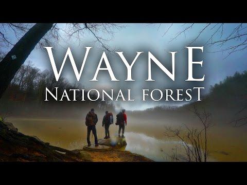 Wayne National Forest in 4K | Best Ohio Backpacking | Bushcraft, Hiking, & Camping Lake Vesuvius