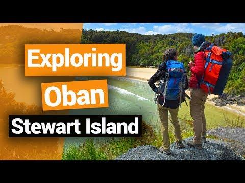 Exploring Oban on Stewart Island – New Zealand's Biggest Gap Year – Backpacker Guide New Zealand