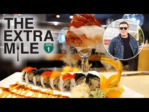 What to Eat in Fort Lauderdale, Florida 🍣 The Extra Mile with Tyler Florence | Food Network