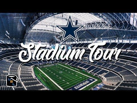 🏈 NFL Dallas Cowboys AT&T Stadium Tour - Bucket List!