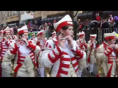 Scenes from Carnival in Cologne, Germany