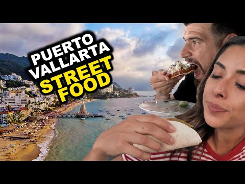EATING OUR WAY THROUGH PUERTO VALLARTA | Best Street Food