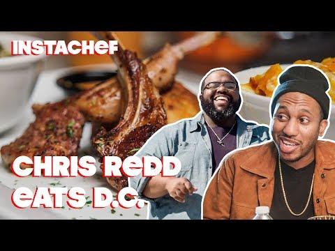 SNL's Chris Redd Hits Up Washington, D.C.'s Underground Food Scene || InstaChef