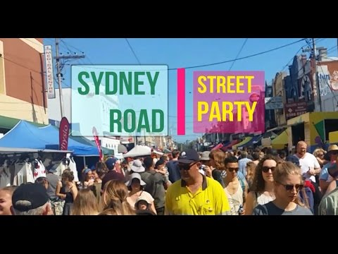 Sydney Road Street Party 2017 - Brunswick Music Festival