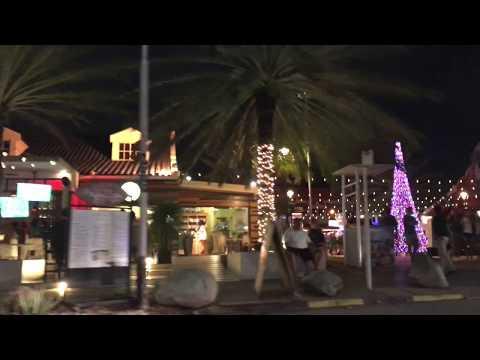 Aruba Nightlife Scenery 4K HD