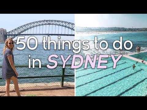 50 Things To Do In Sydney