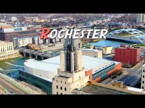 Rochester, New York 🇺🇸 |4K| Aerial Drone Footage
