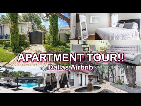 Apartment Tour   Dallas Airbnb