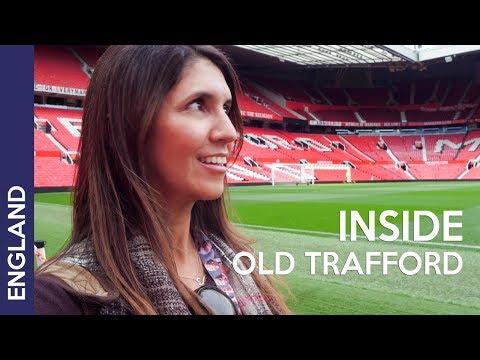 Old Trafford stadium tour - MANCHESTER UNITED! UK Travel vlog