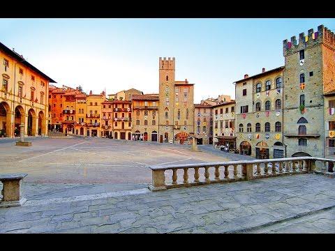 AREZZO (Tuscany-Italy) - TOUR DELLA CITTA' -