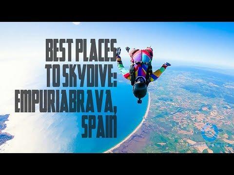 Best Places to Skydive: Empuriabrava, Spain 2018
