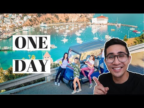 CHEAP & FUN Things to do in CATALINA ISLAND in ONE DAY 2018