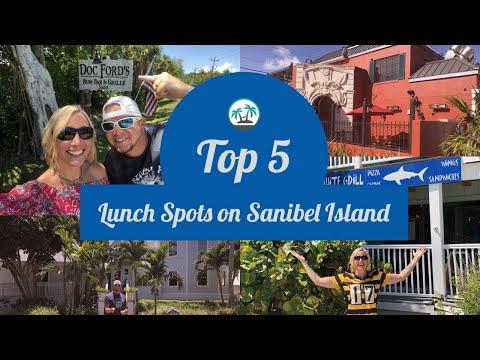 Sanibel Island - Top 5 Lunch Spots