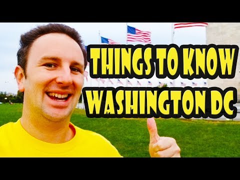 Washington DC Travel Tips: 10 Things to Know Before You Go to DC