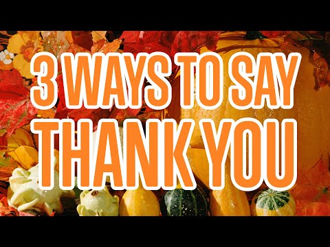 3 Ways to Say Thank You in Danish
