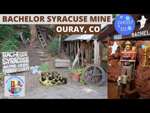 Bachelor Syracuse Mine in Ouray Colorado