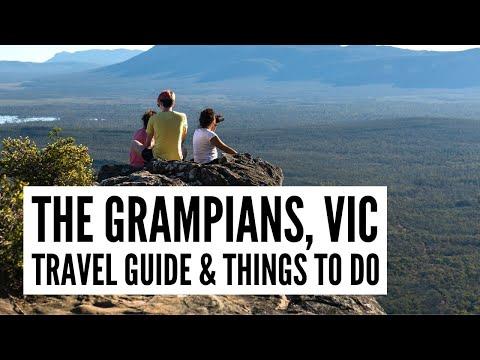 Explore the Grampians in Regional Victoria | Grampians Peaks Trail – The Big Bus