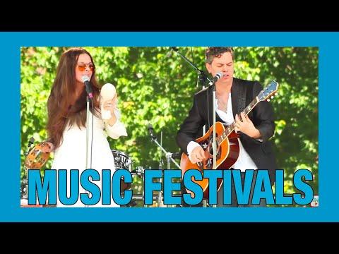 Northern Pocono Mountains, Poconos Music Festivals