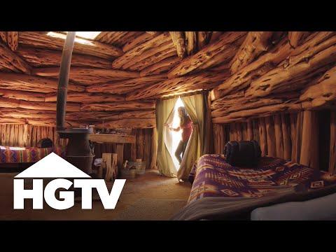 Offbeat Overnights: Shash Dine Traditional Retreat   HGTV