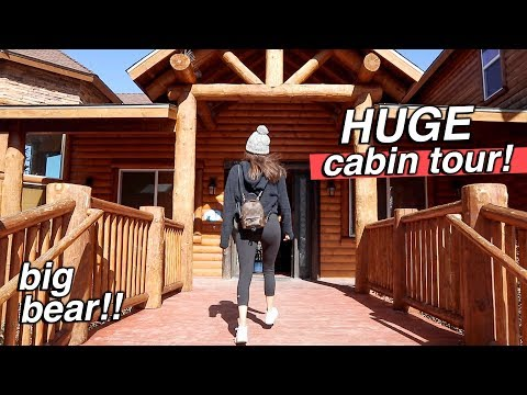 HUGE HOUSE TOUR!!! Big Bear Cabin!!!