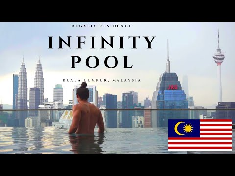 Beautiful rooftop infinity pool - Regalia Residence | Kuala Lumpur, Malaysia