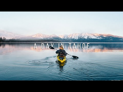 A DAY IN THE LIFE in LAKE TAHOE - GoPro Hero 7 Black