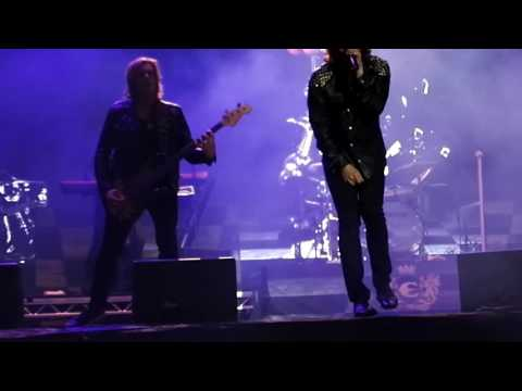 Europe 26.5.2016 at Umeå U Rock festival: Sign of the Times
