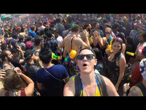 Songkran Water Festival 2015 – Chiang Mai, Thailand