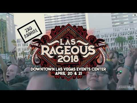 Las Rageous 2018, April 20-21, 2018