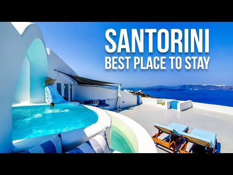 Where To Stay In Santorini Greece | Best Airbnb In Santorini Tour