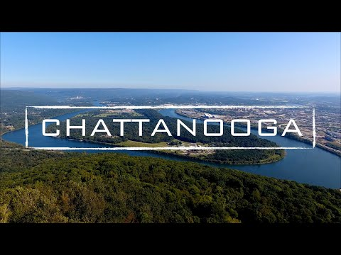 Chattanooga Tennessee 4K Drone Video
