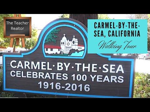Carmel-By-The-Sea, California Walking Tour