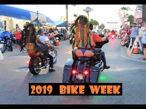 DAYTONA BEACH BIKE WEEK 2019   BEST BIKES ON MAIN STREET