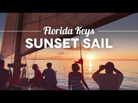 Key West Must do: Florida Keys Sunset Sail mit Weinprobe