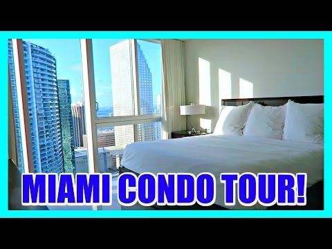 🏠 MIAMI FLORIDA CONDO TOUR (AIRBNB)! ✈️