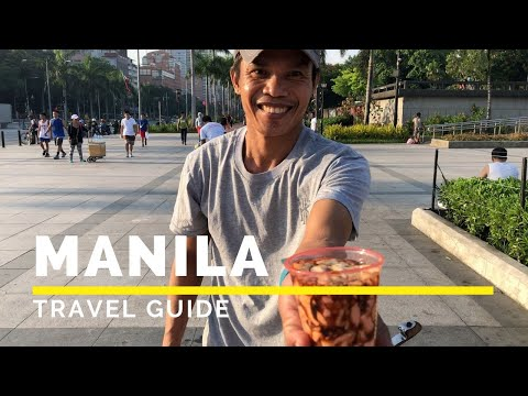 MANILA PHILIPPINES Travel Guide | Top Things To Do In Manila | Happy Trip