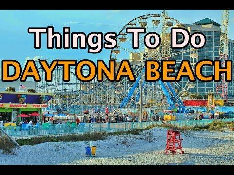 Top Things To Do in Daytona Beach, Florida   4K