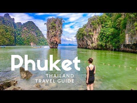 HIGHLIGHTS of Phuket, Thailand. Island hopping boat tour | TRAVEL GUIDE