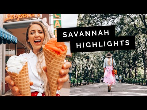 24 Hours in SAVANNAH, USA | Little Grey Box