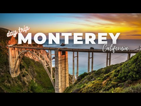 BEST OF MONTEREY CALIFORNIA   Monterey and Carmel-by-the-Sea Day Travel   Central Coast Road Trip CA