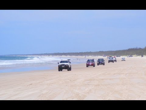 Bribie Island Queensland Australia - Last Day Of 2018 First Time 4x4 Beach Driving
