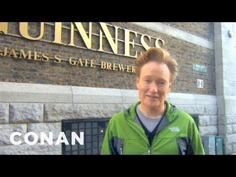 Conan Visits The Dublin Guinness Brewery - CONAN on TBS