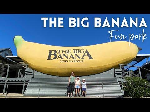 The Big Banana Coffs Harbour Fun Park Australia | Toboggan Ride