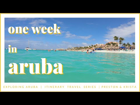 40+ Things to Do in ARUBA [ Itinerary Travel Guide ]