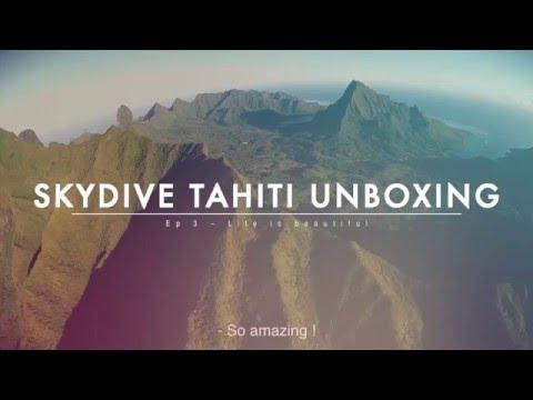 Tahiti Parachutisme Skydive Tahiti Demo video MOOREA Tandem Skydive