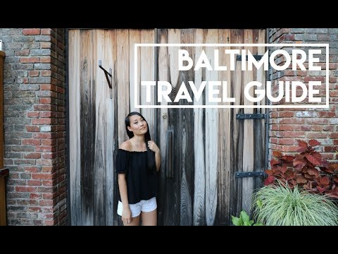 Travel Guide - Baltimore